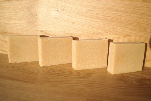 Goat's Milk, Silk, Oatmeal And Honey Soap Bar
